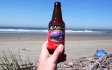With tardy departure from the Lupo �estate� in Hoquiam the next morning, I arrived in Westport only to flail about in the blown-out surf for a few hours.  Beer:30 came much sooner than expected...