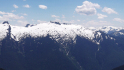 Panorama taken from near Thornton Peak with Snowfield Group at left. I want to do a winter ski tour out onto the Ladder Creek Glacier visible behind Paul.