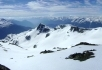 Panorama looking SSE from Face's summit.