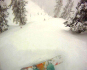 ...and back to Alpy the following day for fresh tracks beyond Elevator Gate.