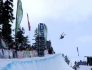 Big air in the Blackcomb pipe.