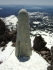 Strange phallus on Lassen's summit.