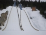 New ski jumps for 2010 Olympics in Callaghan Valley.