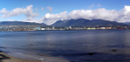 Looking across Burrard Inlet with the North Shore in distance.