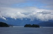 Looking across Howe Sound from the ferry ride back to Horseshoe Bay.