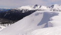 Fresh late April lines await on Whistler's Flute Shoulder!